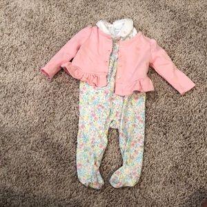 Baby Girl Ralph Lauren 3 Piece outfit